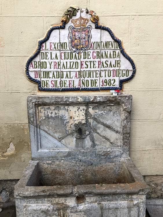 Pilar de Diego de Siloe Granada