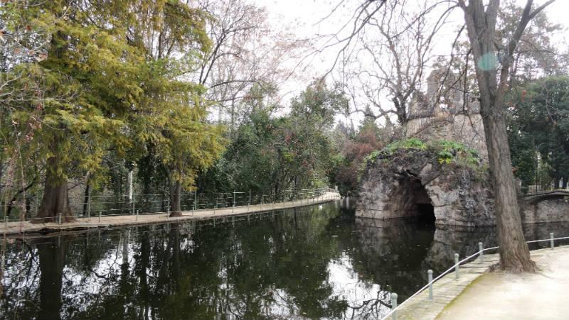 Pequeño lago en el Carmen