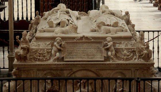 Cenotafio de los Reyes Catolicos. Capilla Real Granada