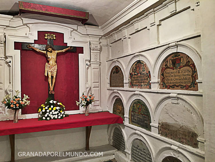 cripta catedral granada