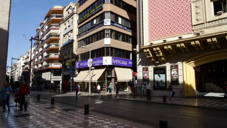 Edificio Cine Aliatar desde San Antón.