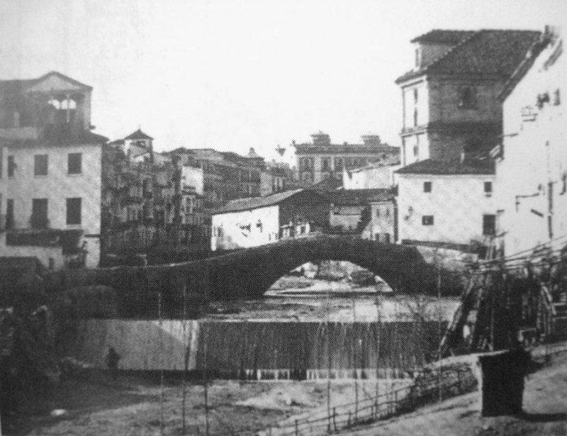 El Desaparecido Puente de la Virgen de Granada