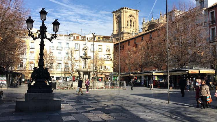 Plaza de Bib-Rambla Granada