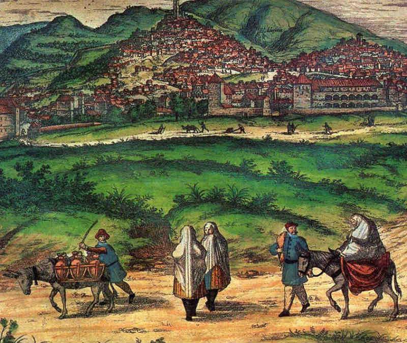 Granada a mediados del siglo XVI.