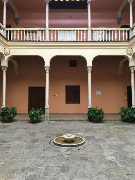 Interior del Palacio de los Córdova Granada