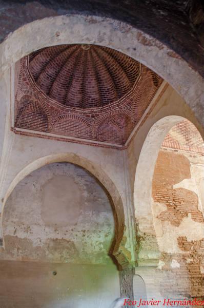 Interior de la Puerta de la Justicia.