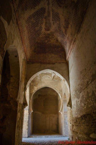 Interior de Puerta de Armas.