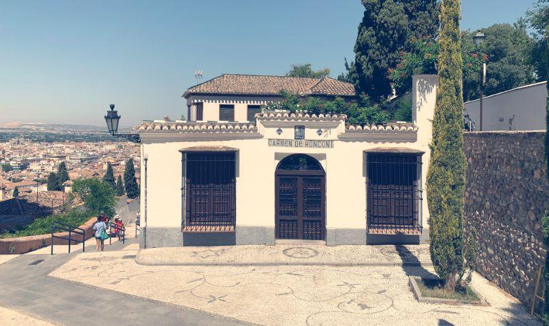 Carmen de Ronconi. Granada.