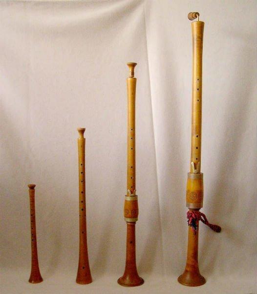 Instrumento musical llamado Chirimías.
