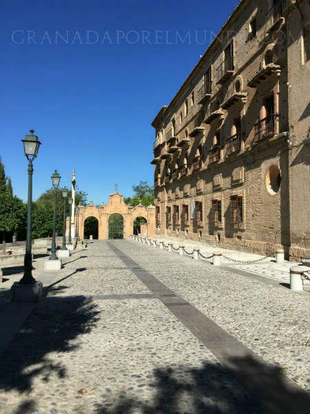 Lateral de la Abadía del Sacromonte