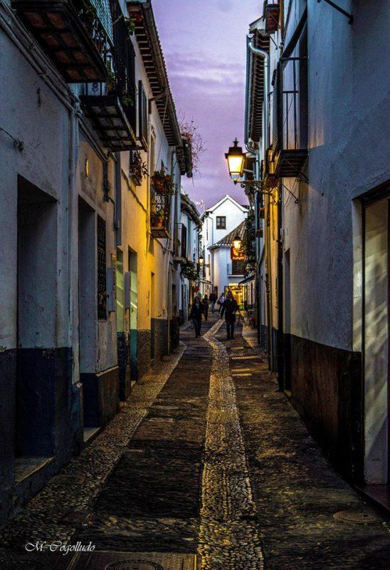 Calle del Agua. Albaicín. Granada