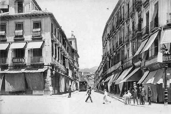 Granada en 1905 y Virginia Woolf