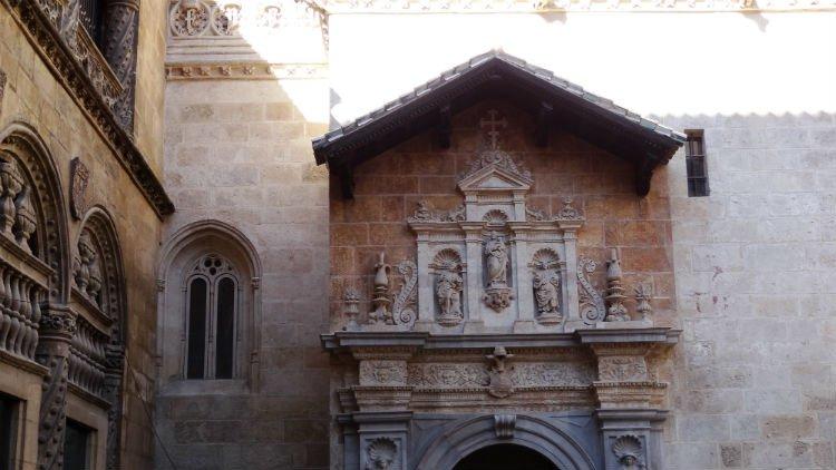 Exterior de la Capilla Real de Granada
