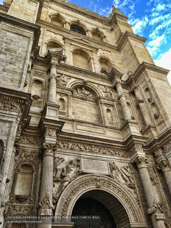 Puerta del Perdón. Catedral de Granada.