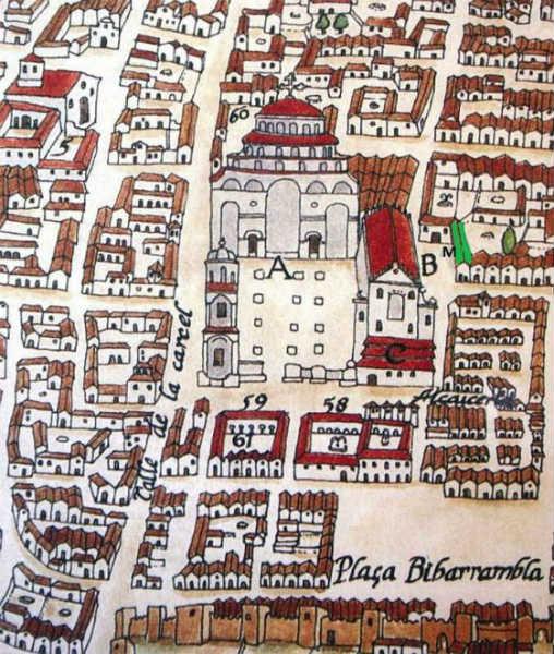 Plataforma de Ambrosio de Vico (realizada entre 1596 y 1609).