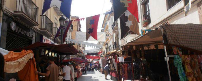Mercado Medieval en Santa Fe. Granada