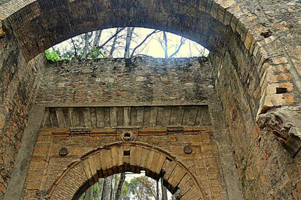 Puerta de Bib Rambla. Alhambra. Granada