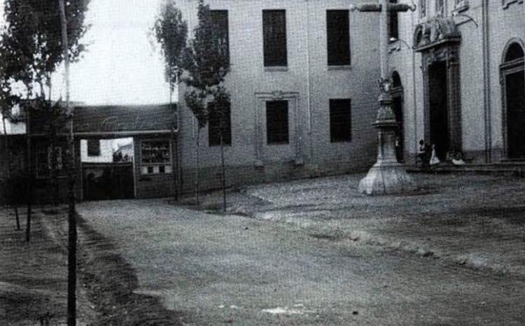 Curiosa fotografía de la Placeta de Gracia