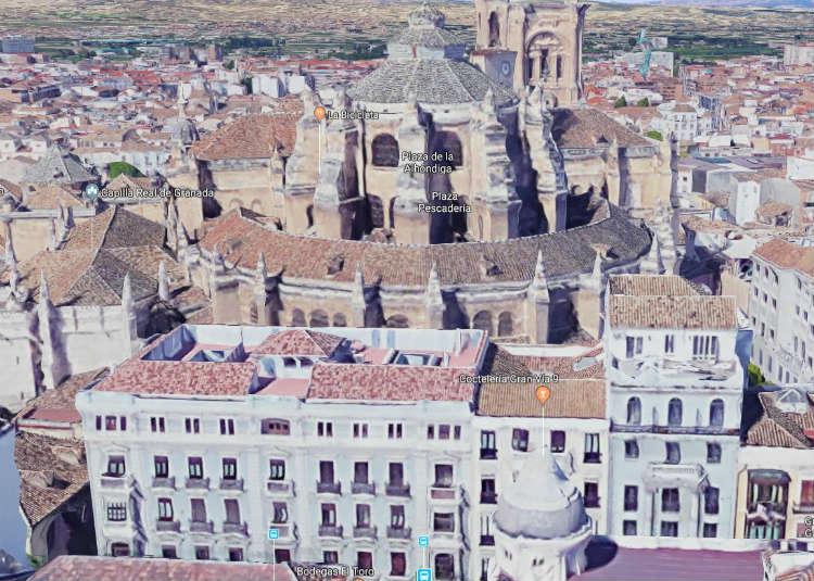 El Grand Hotel París de la Gran Vía de Granada