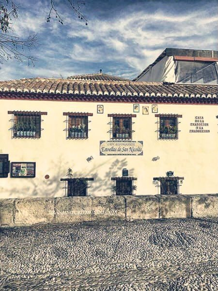 Restaurante Estrella de San Nicolás.