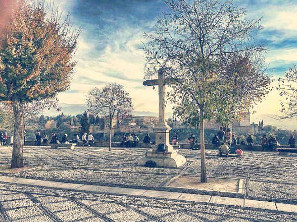 Mirador de San Nicolás. Albaicín. Granada.