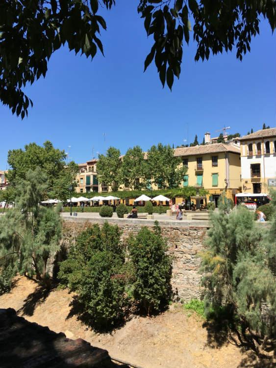 El Paseo de los Tristes Granada