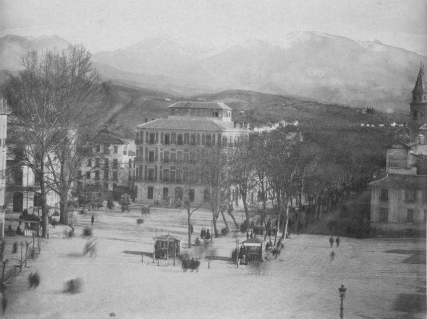 Plaza del Campillo en 1888