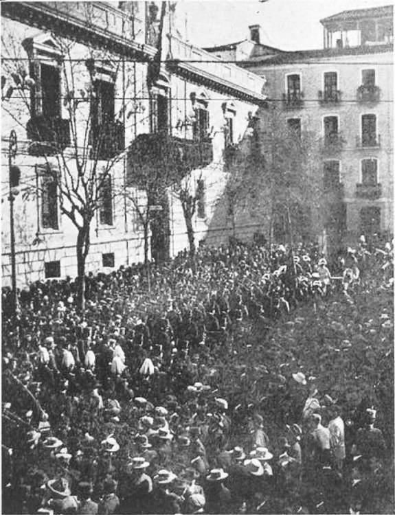 Granada. Dos de enero de 1909