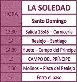 Viernes Santo en Granada. La Soledad