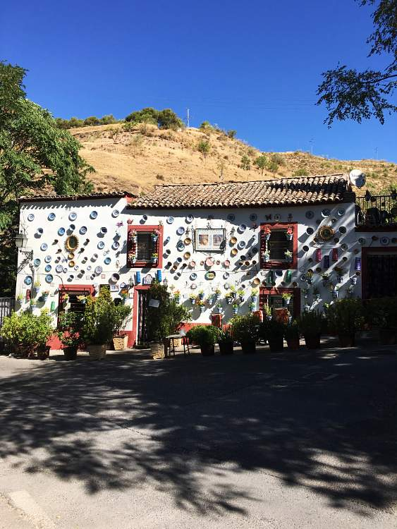 Casa La Sevillana. Camino del Sacromonte