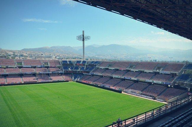 Interior del estadio Nuevo Los Carmenes