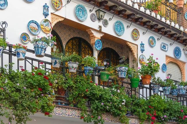 Dónde alojarse en Granada. Balcón típico del Albaicín