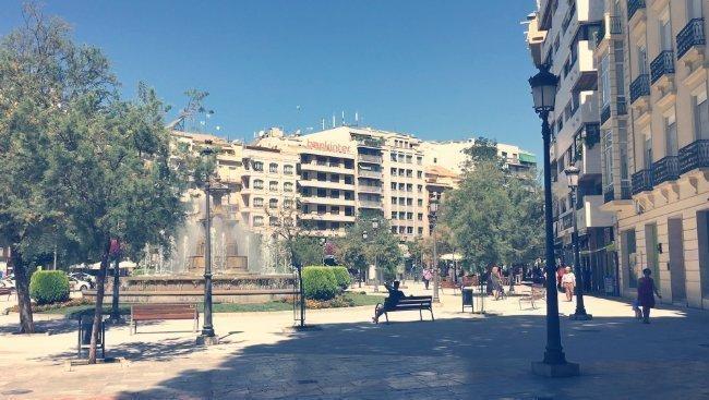 Plaza del Campillo y Fuente de las Batallas