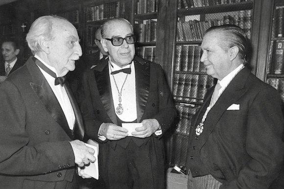 Francisco Ayala ingresó en la RAE el 25 de noviembre de 1984. Foto: © ABC