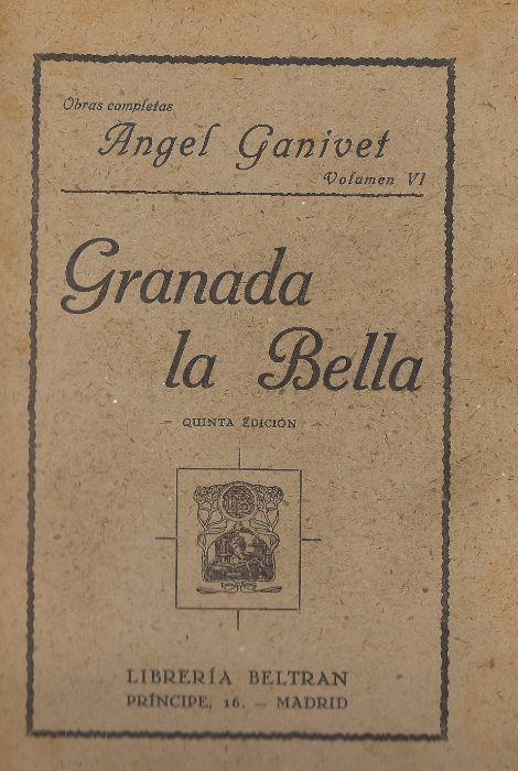 Granada la Bella, de Angel Ganivet