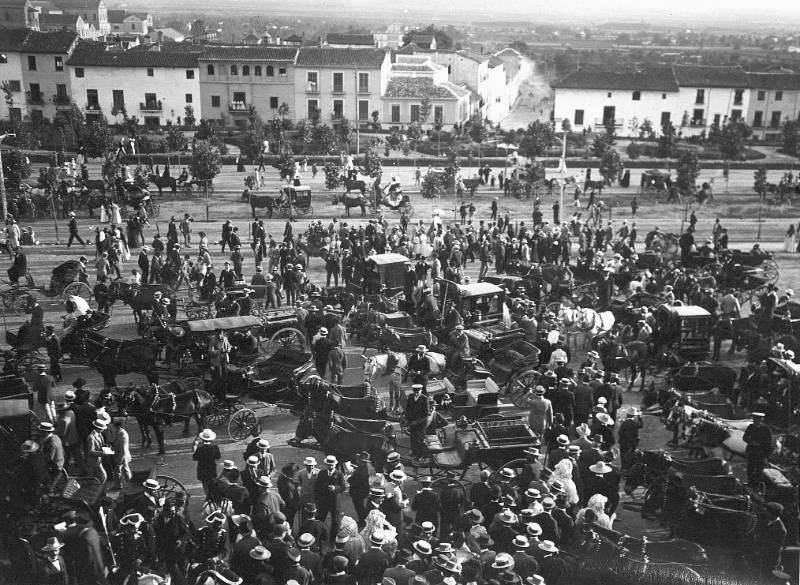 El Campo del Triunfo en 1909