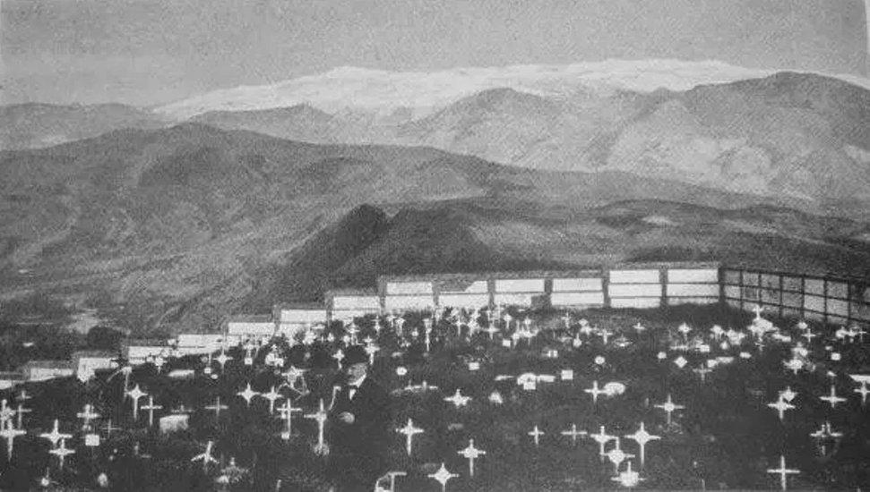 el cementerio de granada en 1919