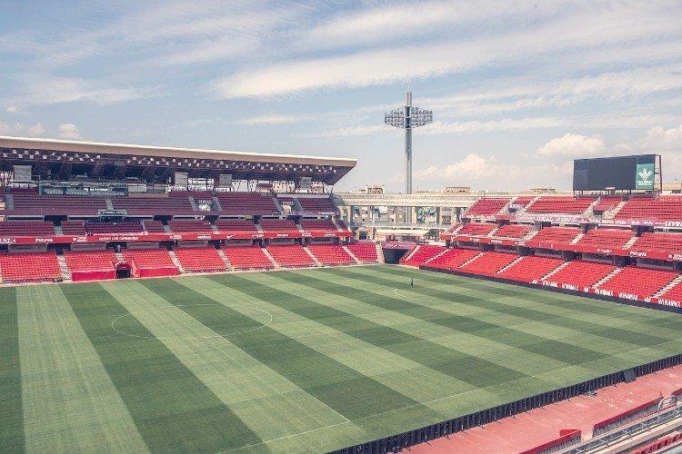 Así luce el Nuevo Estadio de Los Cármenes en 2019.