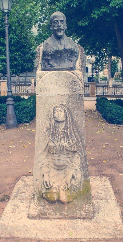 busto francisco de paula valladar granada